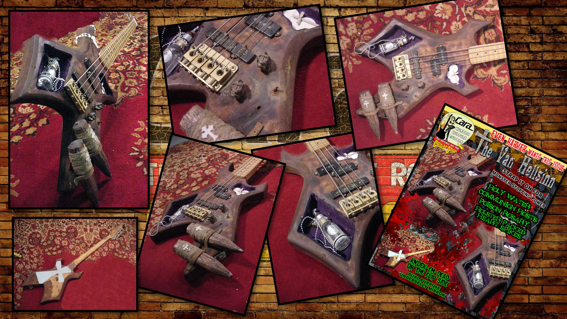 Van Hellsong Vampire Slayer Custom Bass1